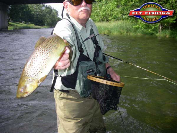 Brookville tailwaters fly fishing for Fly fishing indiana