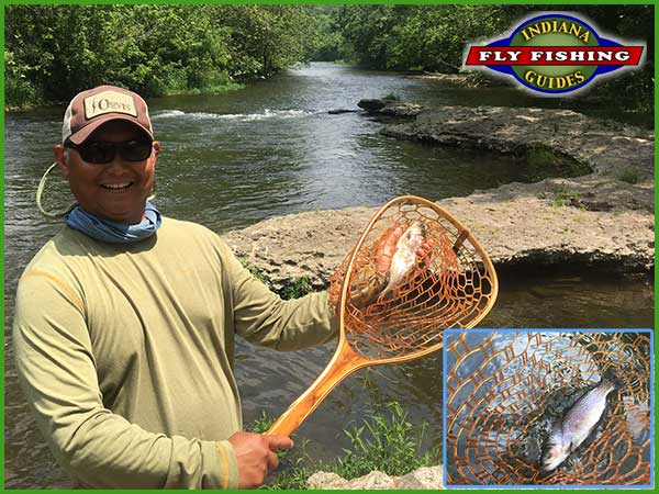 Brookville trout fly fishing