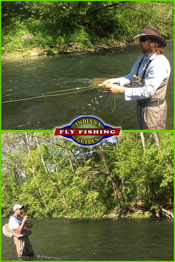 Fly fishing report from indiana fly fishing guides for Indiana fishing reports