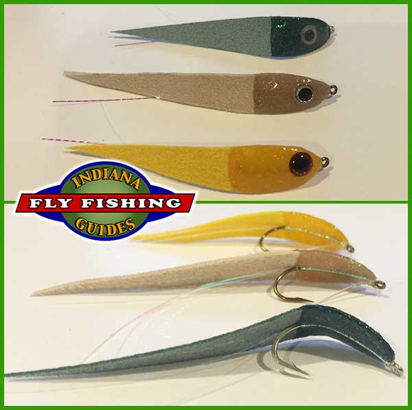 dying minnow spoon fly for fly rod by Jeff Conrad