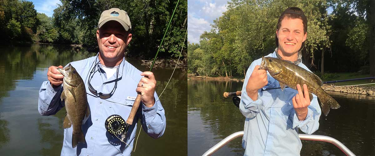 Indiana fly fishing guides flyfishing float trips on for White river fishing guides