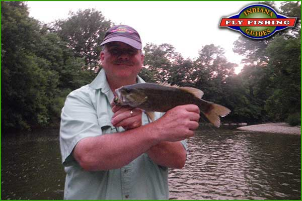 Jeff Conrad on Sugar Creek