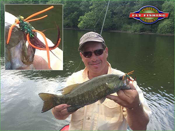 Fly fishing report from indiana fly fishing guides for Fish in indiana