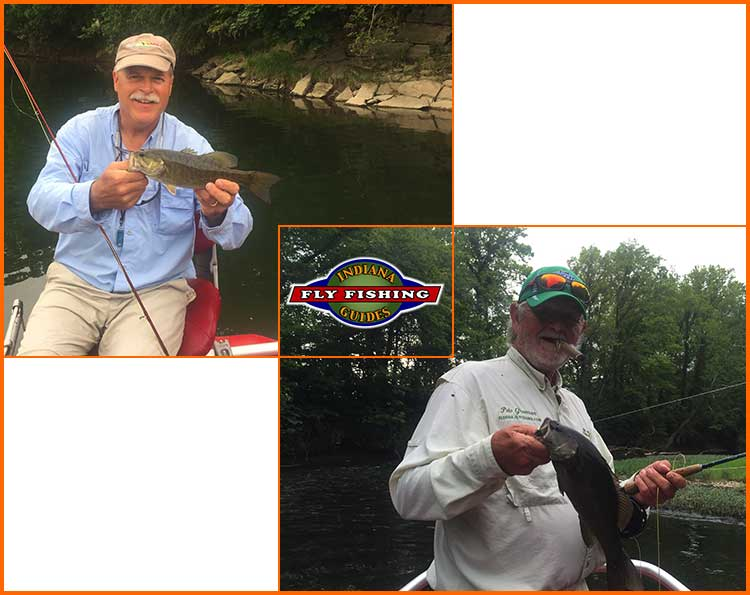 indiana smallmouth with Pete Greenan and Marty James