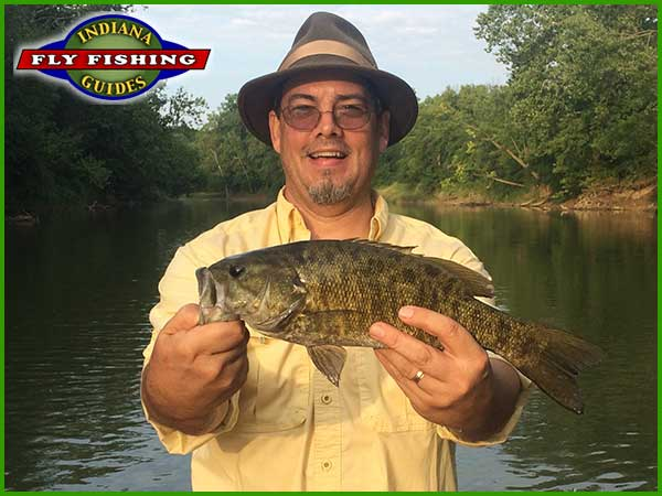 Smallmouth Bass on Indiana's White River