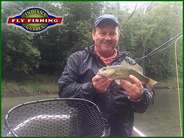 Joe Mahler flyfishing Indiana's White River