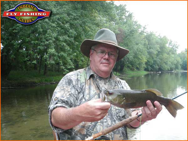 Anderson raible gage 82cfs water temp at 72 76 4 for Fish in indiana